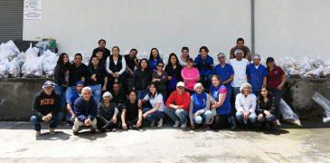 GSFEPP, unido para elaborar kits para nuestros hermanos afectados en el terremoto