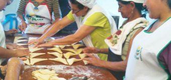 Proceso de capacitación en Panadería y Pastelería  con la Asociación ASOSERPUC Pucayacu – La Mana, Cotopaxi
