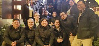 Equipo FUNDER celebrando el 14 Aniversario de la Escuela de Formación Empresarial del GSFEPP