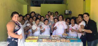 Visita de evaluación, proyecto becas ocupacionales,  Pan para el mundo – Alemania Jaramijo, Manabí