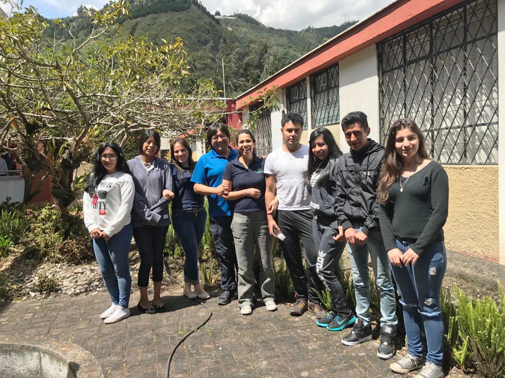 Encuentro nacional de Becarios COFA 2017 Baños, Tungurahua