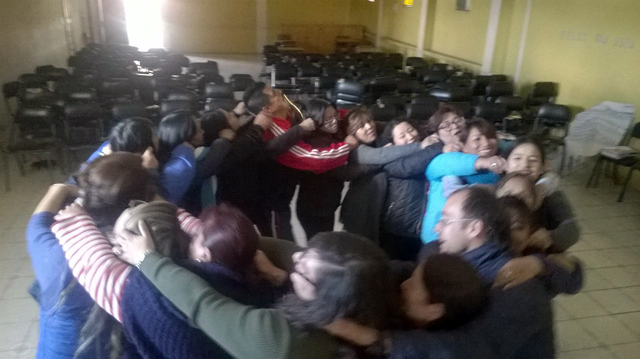 Taller de metodología Aflatoun  CRISFE – FUNDER Riobamba