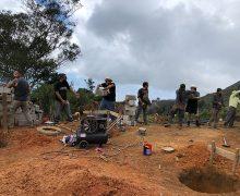 Minga Solidaria en la Comunidad de San Vicente de Almendral  Cantón Paltas – provincia de Loja 12, 13 y 14 de enero 2018