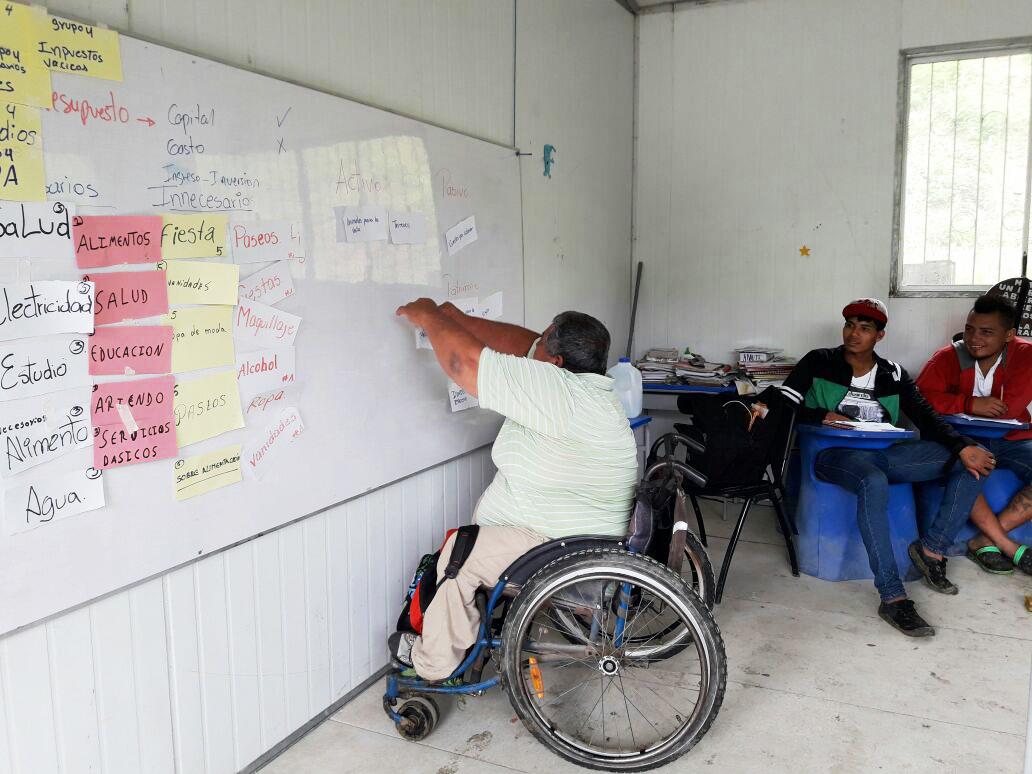 Taller de Gestión Financiera Familiar CRUZ ROJA – FUNDER Comunidad La Mocora, Jama, Manabí