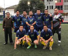 Equipo del GSFEPP 2018 en el campeonato  inter institucional Organizado por la CONAFIPS