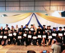 Graduación en Administración de centros  de negocios populares, Shushufindi, Sucumbios