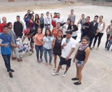 Reto emprendedor programa Jóvenes Constructores DVV – FUNDER, Portoviejo