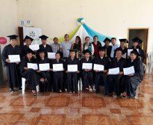 Graduación del taller de Serigrafía, Diseño y Estampado –  Funder Crisfe – Machalilla – Manabí