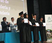 Graduación del Programa de Formación en Panadería y Pastelería con participantes de la Asociación de Servicios las Orquideas, ASOSERVOQ GAD Municipal Cantón Píllaro, Tungurahua
