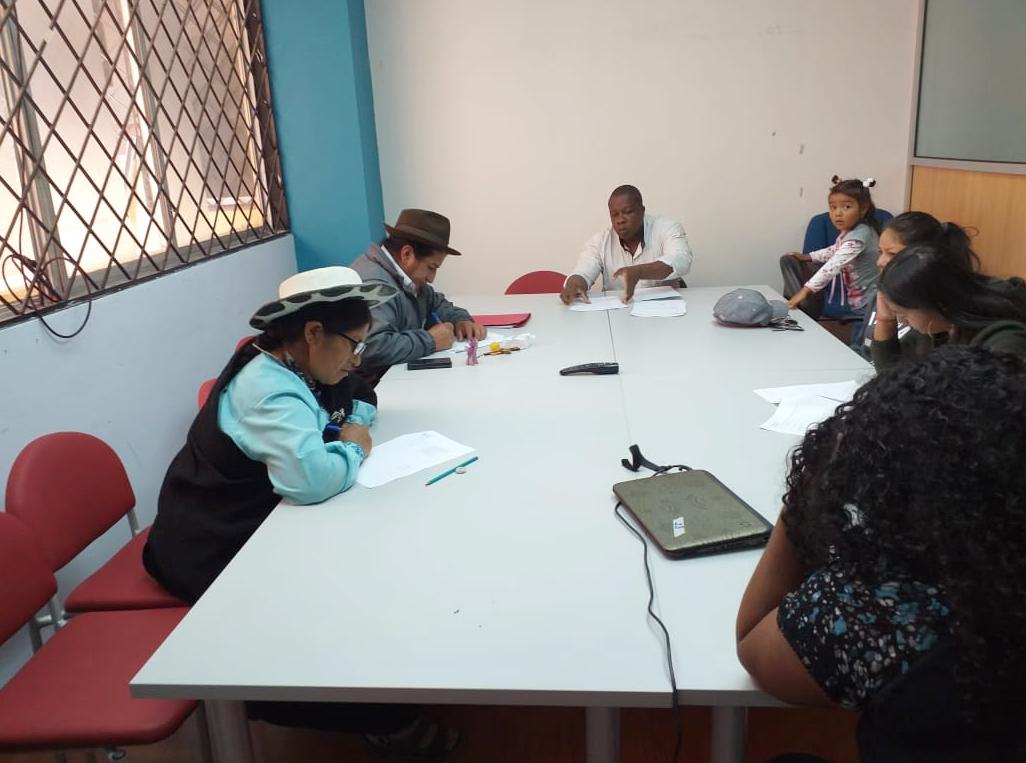 Exámenes del primer quimestre del Colegio Virtual Solidaridad en todo el país