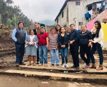 El viernes 29 de marzo de 2019, hicimos la entrega de lo recolectado para nuestros hermanos damnificados del aluvión del barrio Osorio.