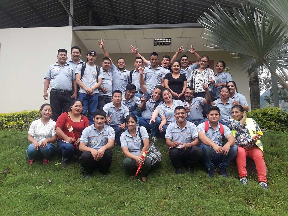 Finanzas populares y solidarias se fortalecen en el Comité de Trabajadores de Ecuacorriente S.A. «TAKAKMAMU»
