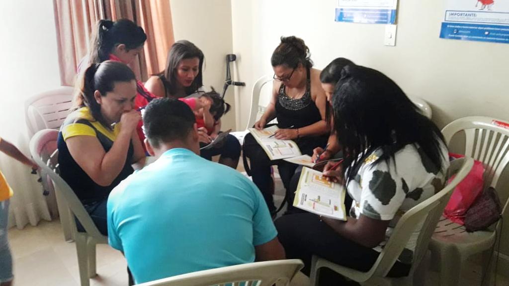 Taller de Educación Financiera FamiliarFUNDER – HIAS, Guayaquil