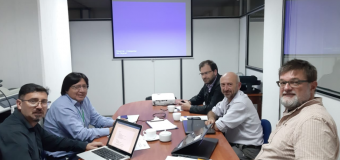 Reunión de presentación del programa de formación  en emprendimientos para la cadenas de valor de café,  cacao y quinua, CEFA, Quito
