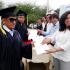 Graduación de los cursos de Mecánica de Motos,  Manejo de Especies Menores , Panadería y Pastelería FUNDER – AEI, Cojimies, Manabí