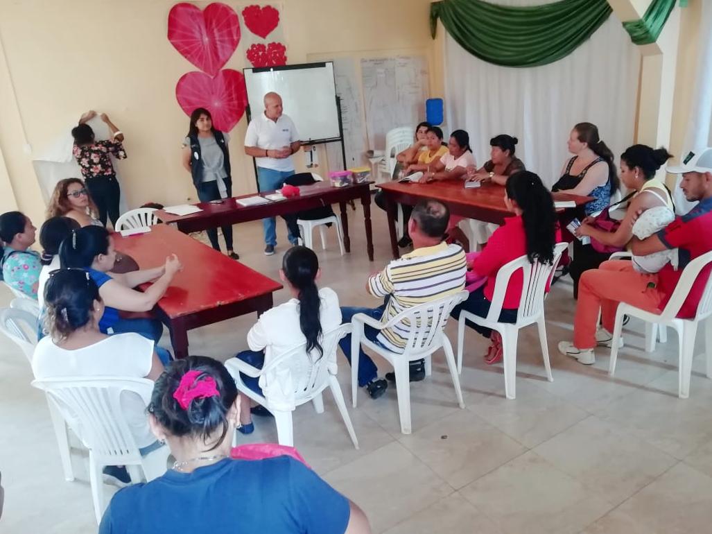 Taller de Educación Financiera Popular  FUNDER – HIAS, Sucumbíos