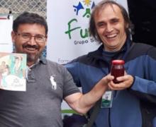 Stand de FUNDER en la 10ma edición  del Festival del Queso, Salinas, Guaranda