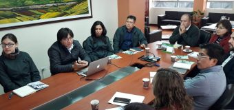 Reunión de coordinación con la prefectura de Carchi para la implementación del proyecto  Jóvenes Constructores
