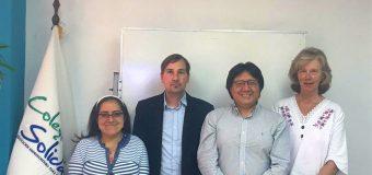 Visita a Funder del Sr. Christoph Jost, director general de DVV  y personal DVV Ecuador, Quito