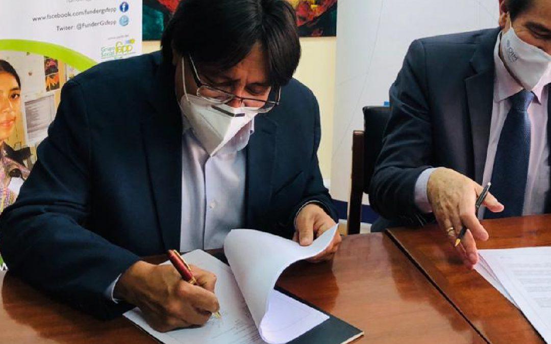FUNDER y la OIM firman Convenio de Cooperación