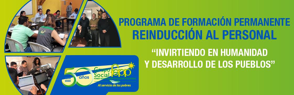 PROGRAMA DE FORMACIÓN PERMANENTE DEL GSFEPP